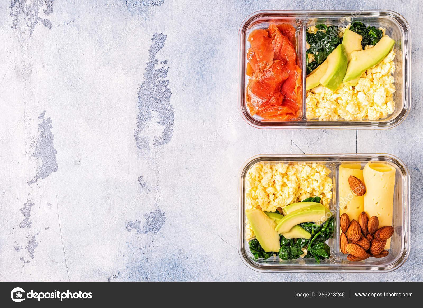 Almuerzo dieta cetogenica