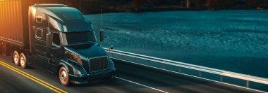 Headers truck running.