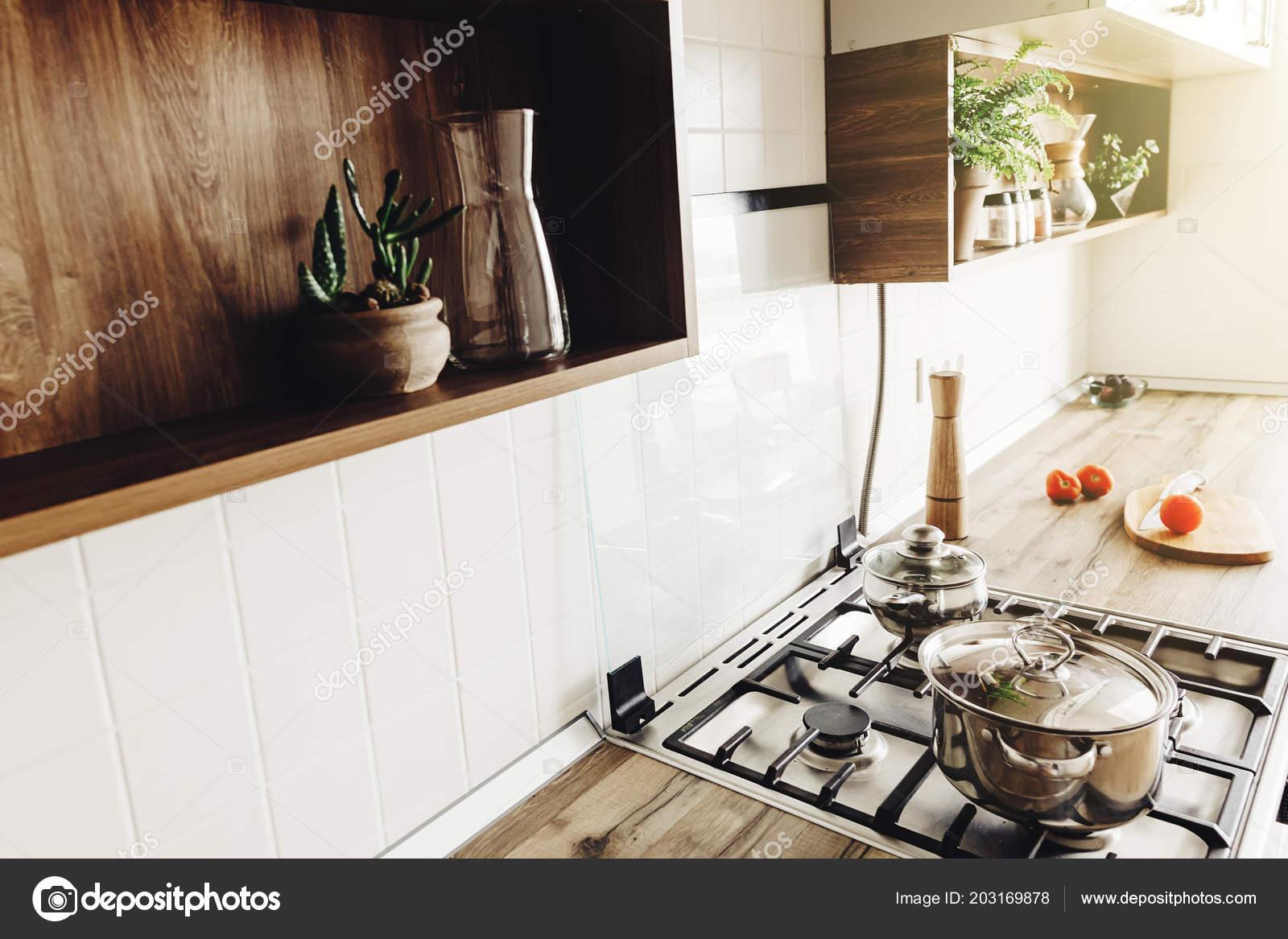 Cuisine Moderne Design Grise