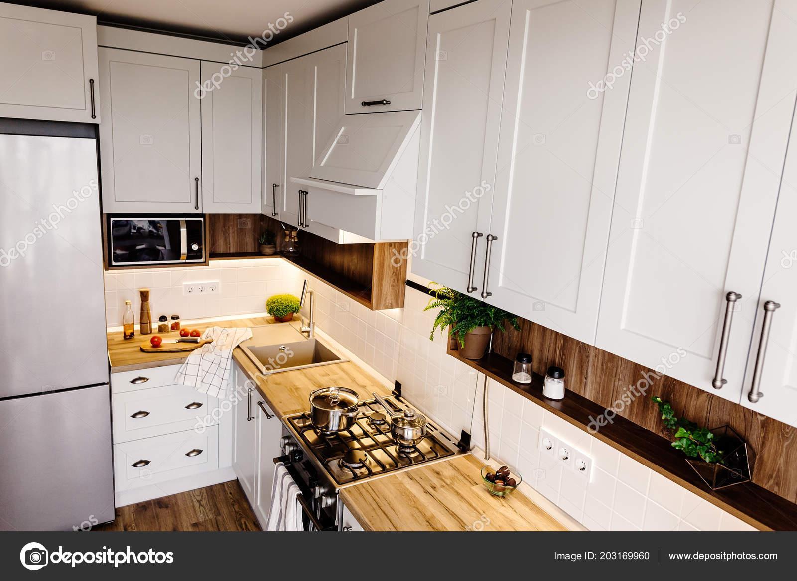 Design Cuisine Moderne Dans Style Scandinave Intérieur ...