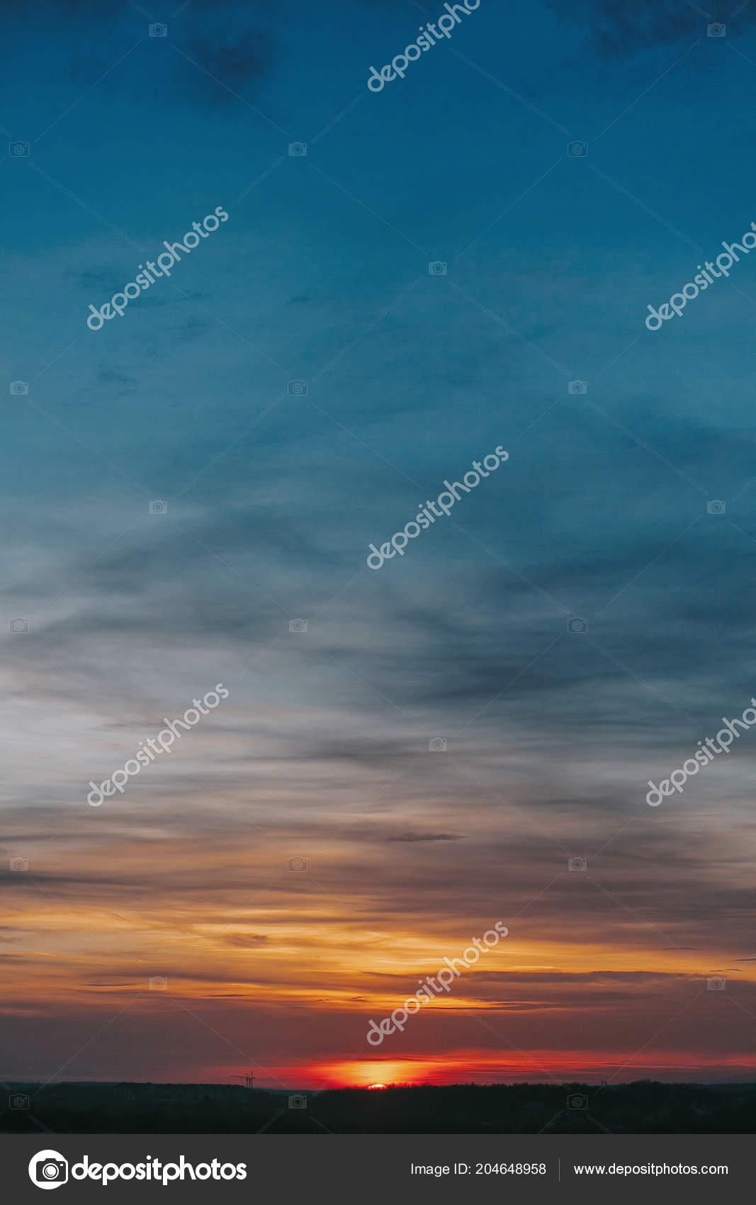 Sunset Amazing Beautiful Sunset Sunrise Sky Clouds Yellow Pink Blue