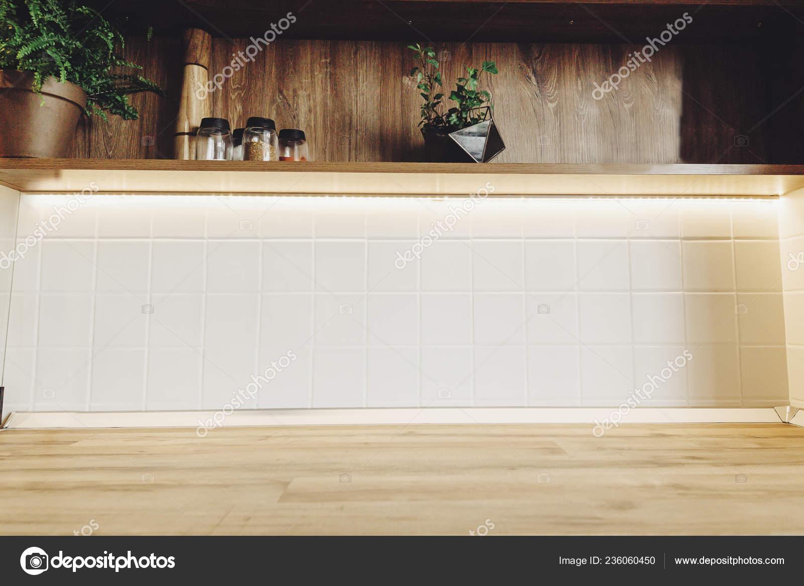Cocina Con Estilo Diseño Interiores Muebles Cocina Lujo Color Gris ...