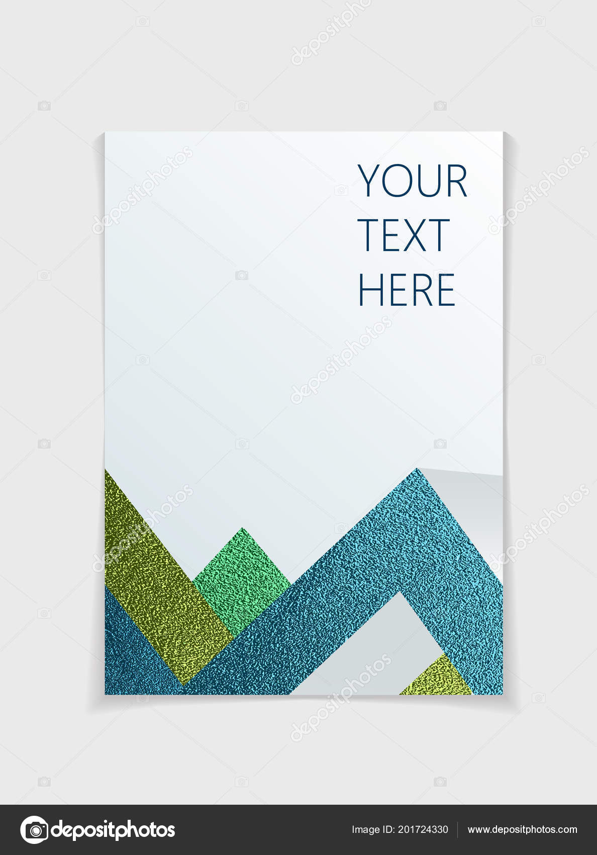 Simple cover page design | Brochure Modern Colorful