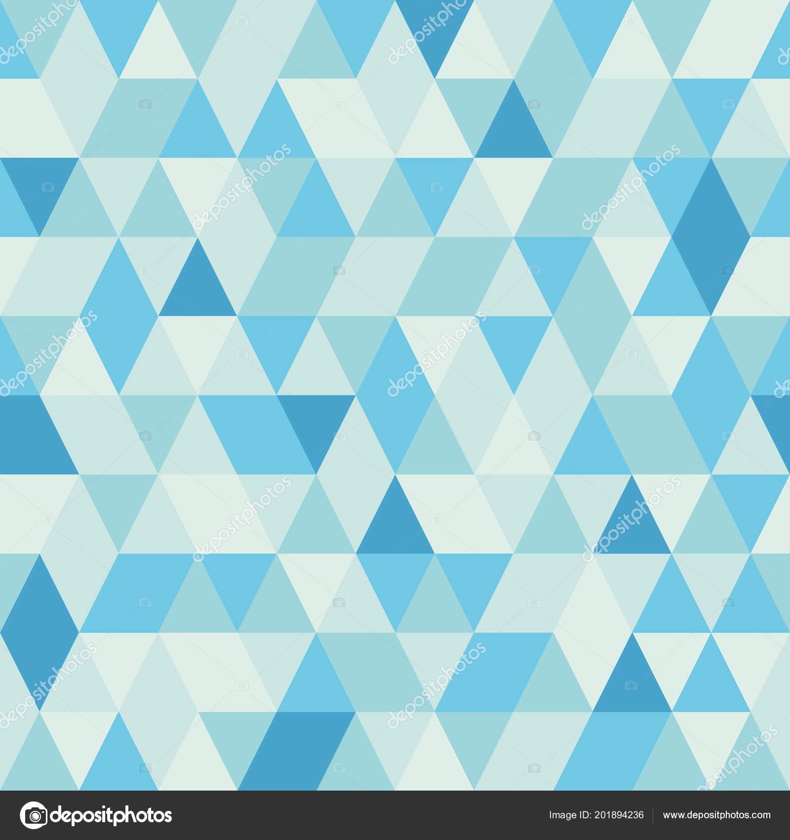 e08d5bf91633e Patrón Triángulos Abstractos Azul Transparente Fondo Retro Formas  Geométricas Telón — Vector de stock
