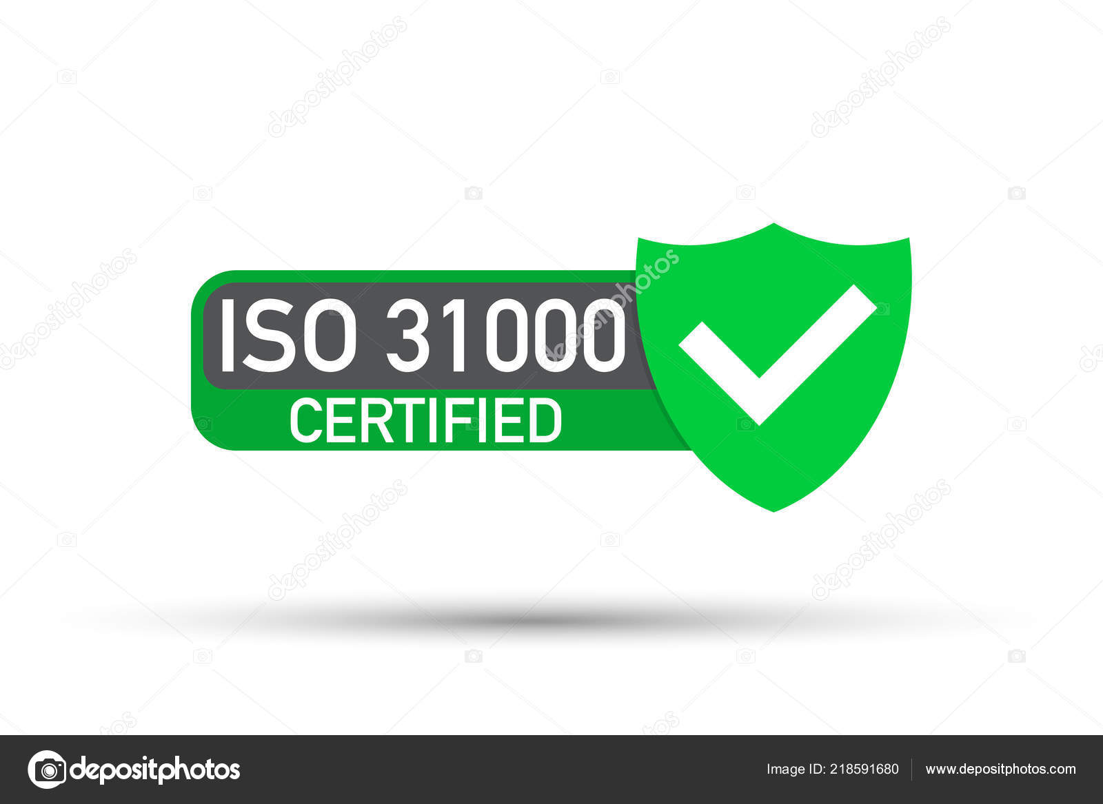Certification Stamp Flat Design Vector Stock Illustration By Appleboy
