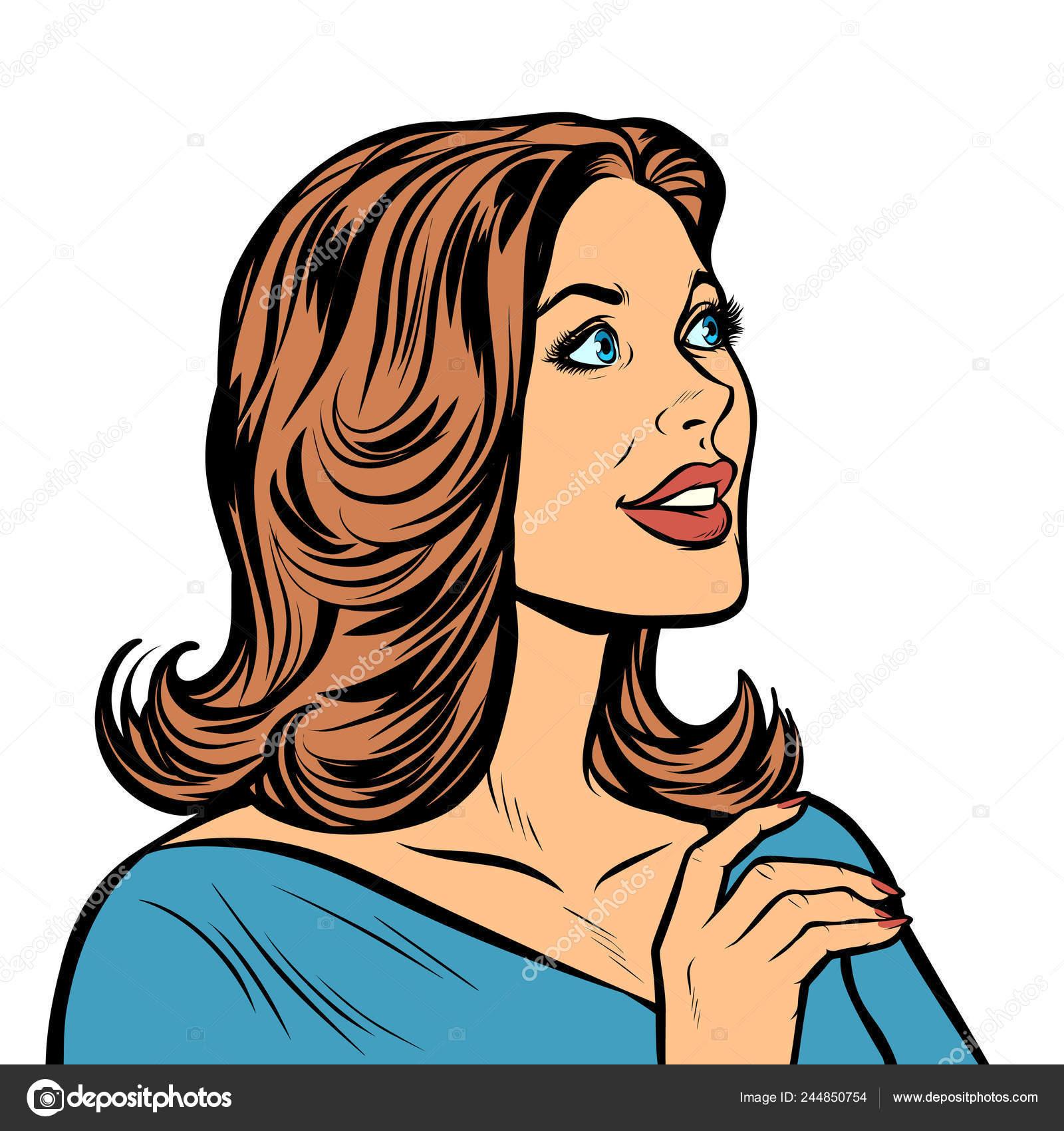 Женщины в профиль ретро фото, блядские любительские фото