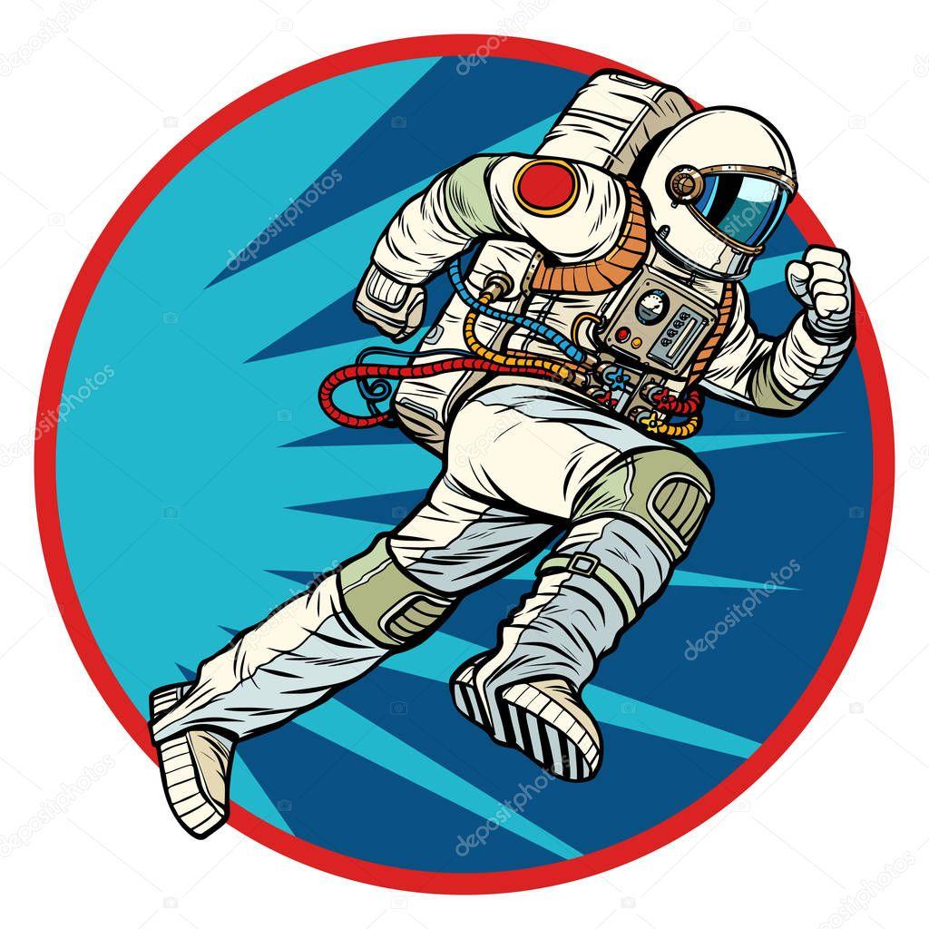 astronauts with ok symbol - HD1000×1080