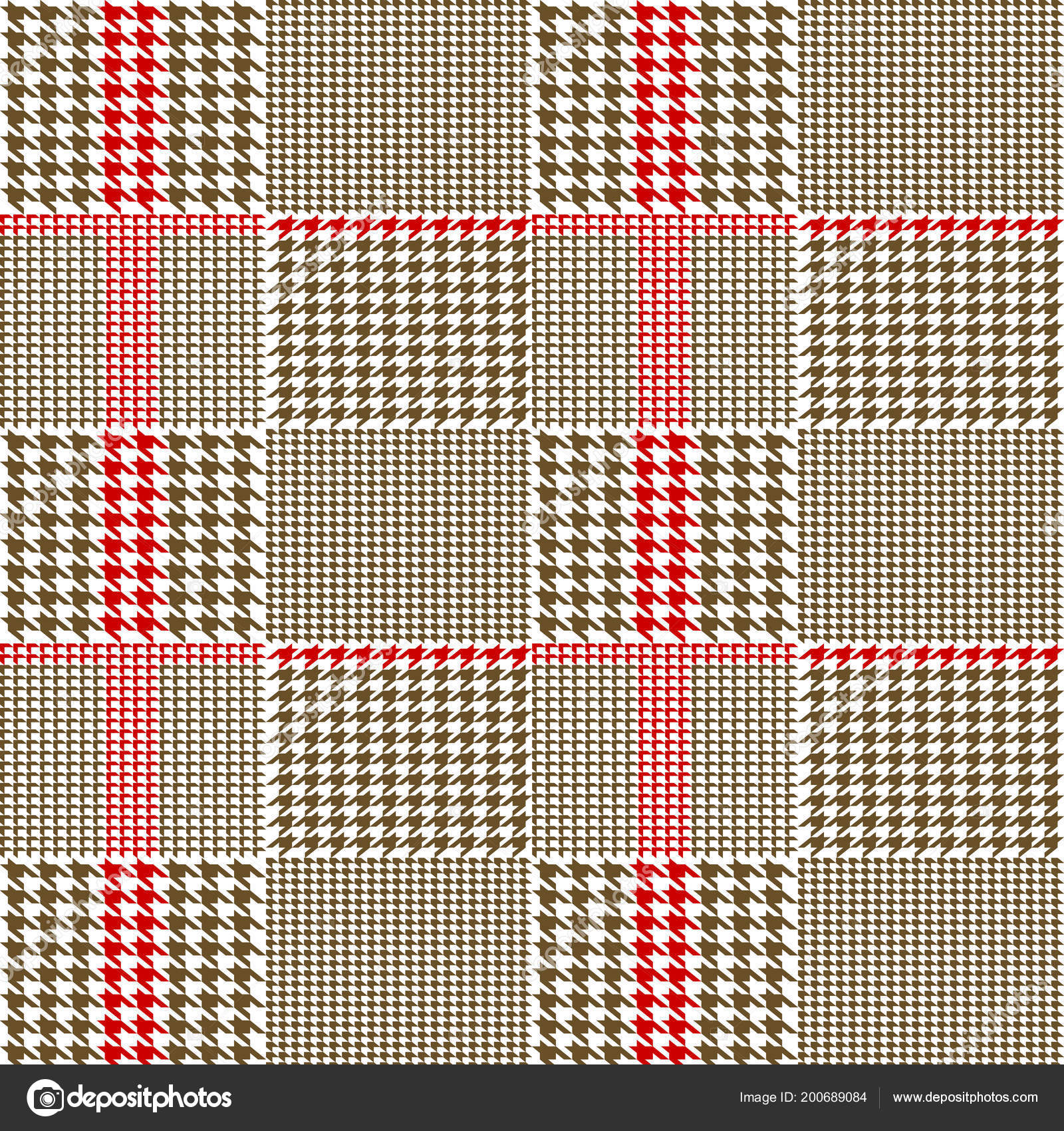 Creative vector illustration of fabric houndstooth seamless vector pattern  background. Geometric print hounds tooth art design. 54c455522
