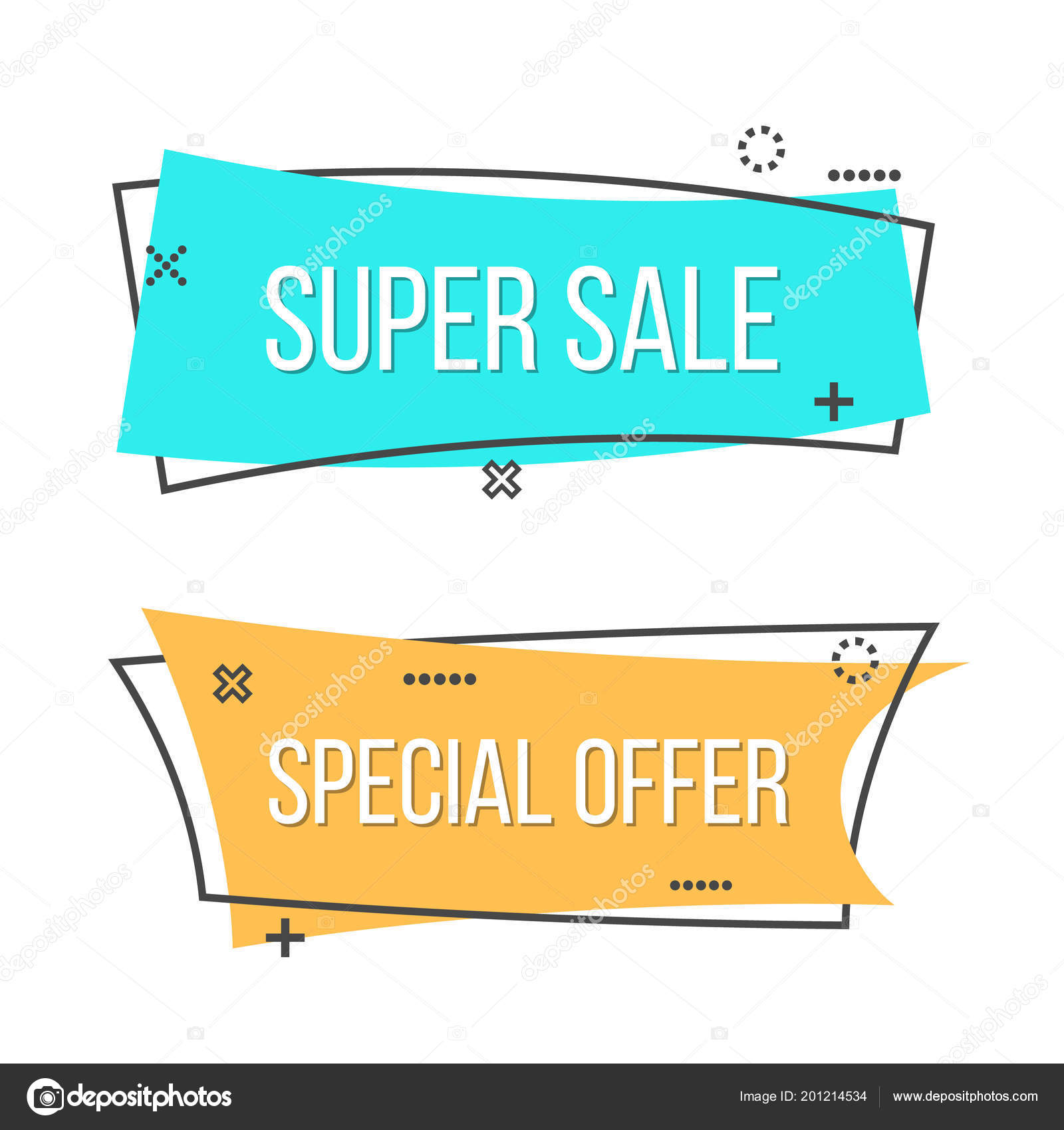 Creative Vector Illustration Of Promotion Ribbon Banner Isolated On