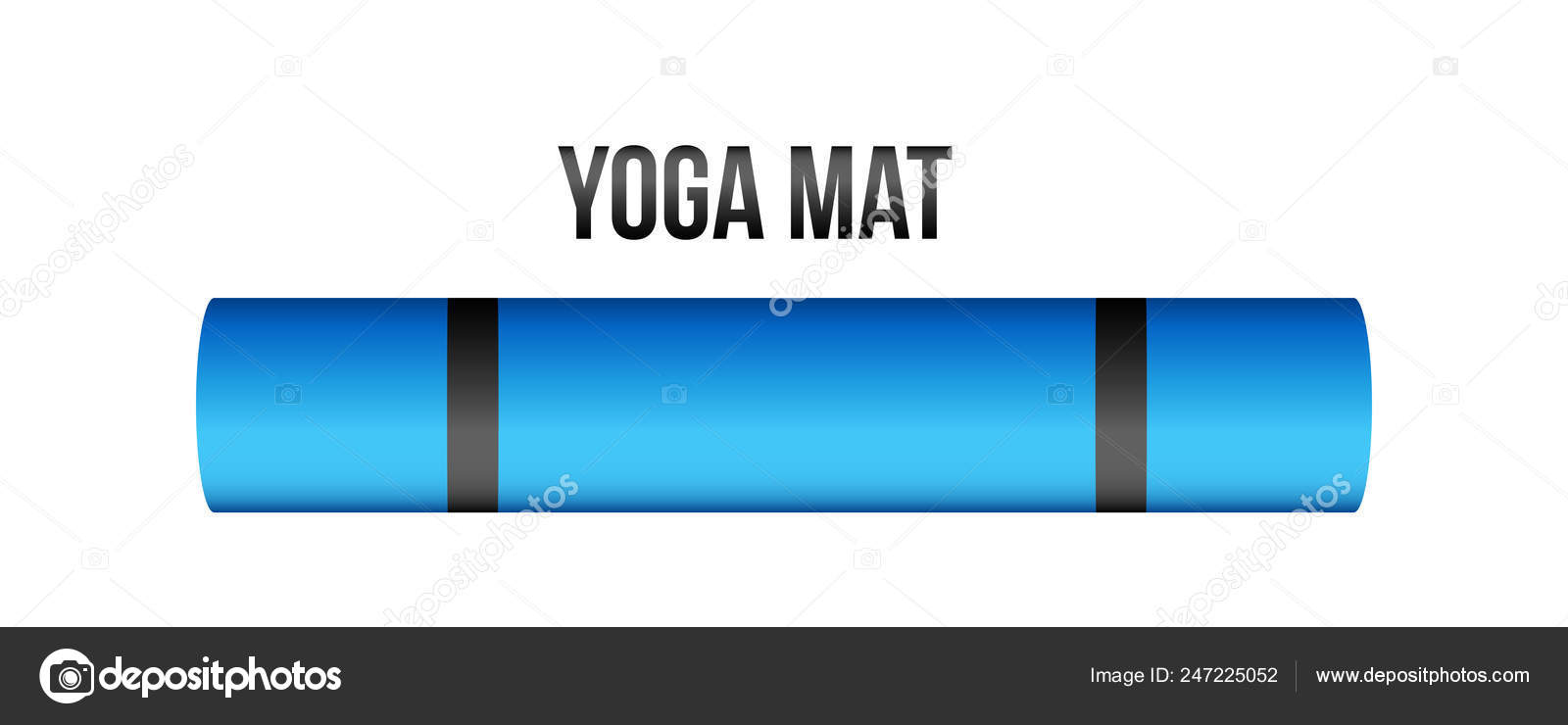 Creative Vector Illustration Of Half Rolled Yoga Mat Isolated On Transparent Background Art Design Fitness And Health Template Abstract Concept Graphic Pilates Exercise Equipment Element Stock Vector C Mikhail Grachikov 247225052