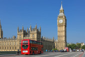 Londýn, provoz na Westminster bridge