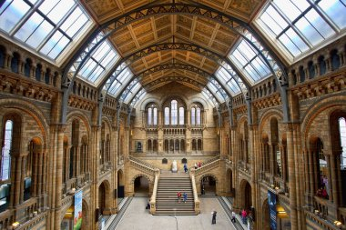 London, Central Hall of the Natural History Museum