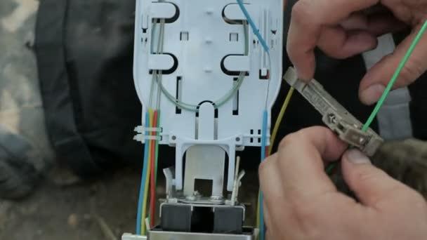 Práce s optickým vláknem