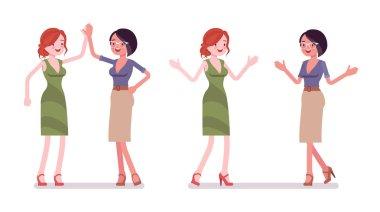 Women friendly greeting