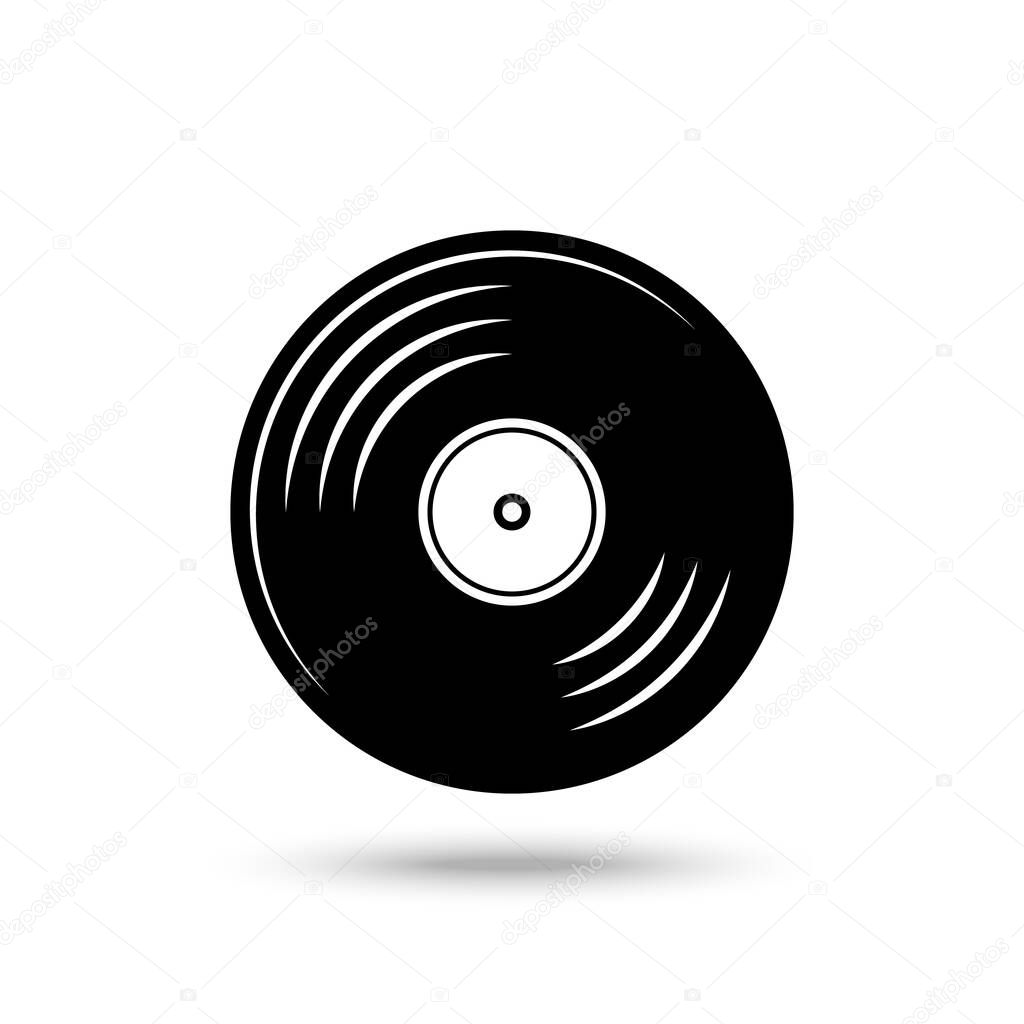 gramophone record vinyl record vector illustration premium vector in adobe illustrator ai ai format encapsulated postscript eps eps format gramophone record vinyl record vector