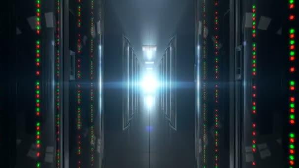 Animation von Inspektionsgeräten im Rechenzentrum