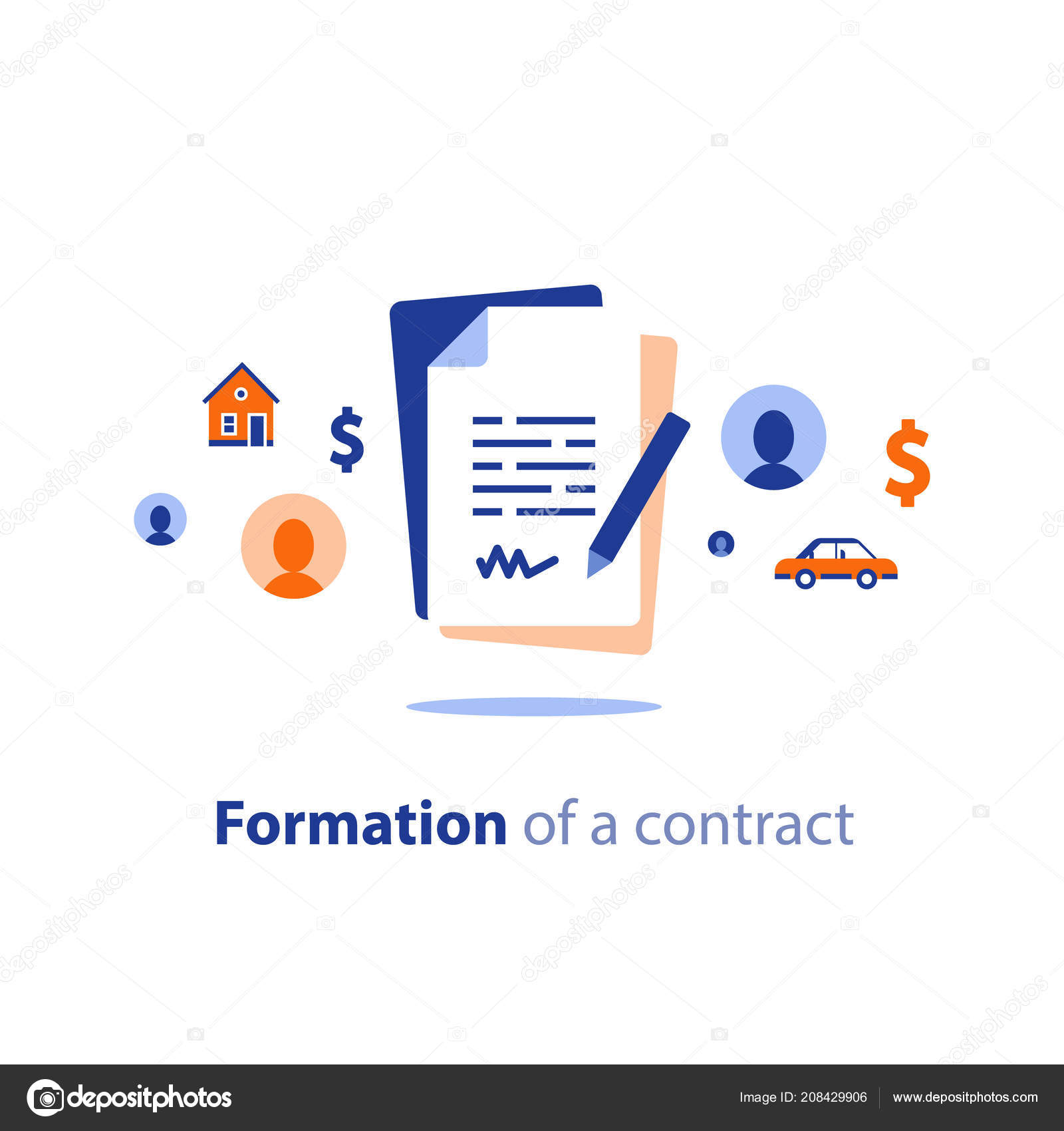 Application Form Composition Contract Creation Service Document