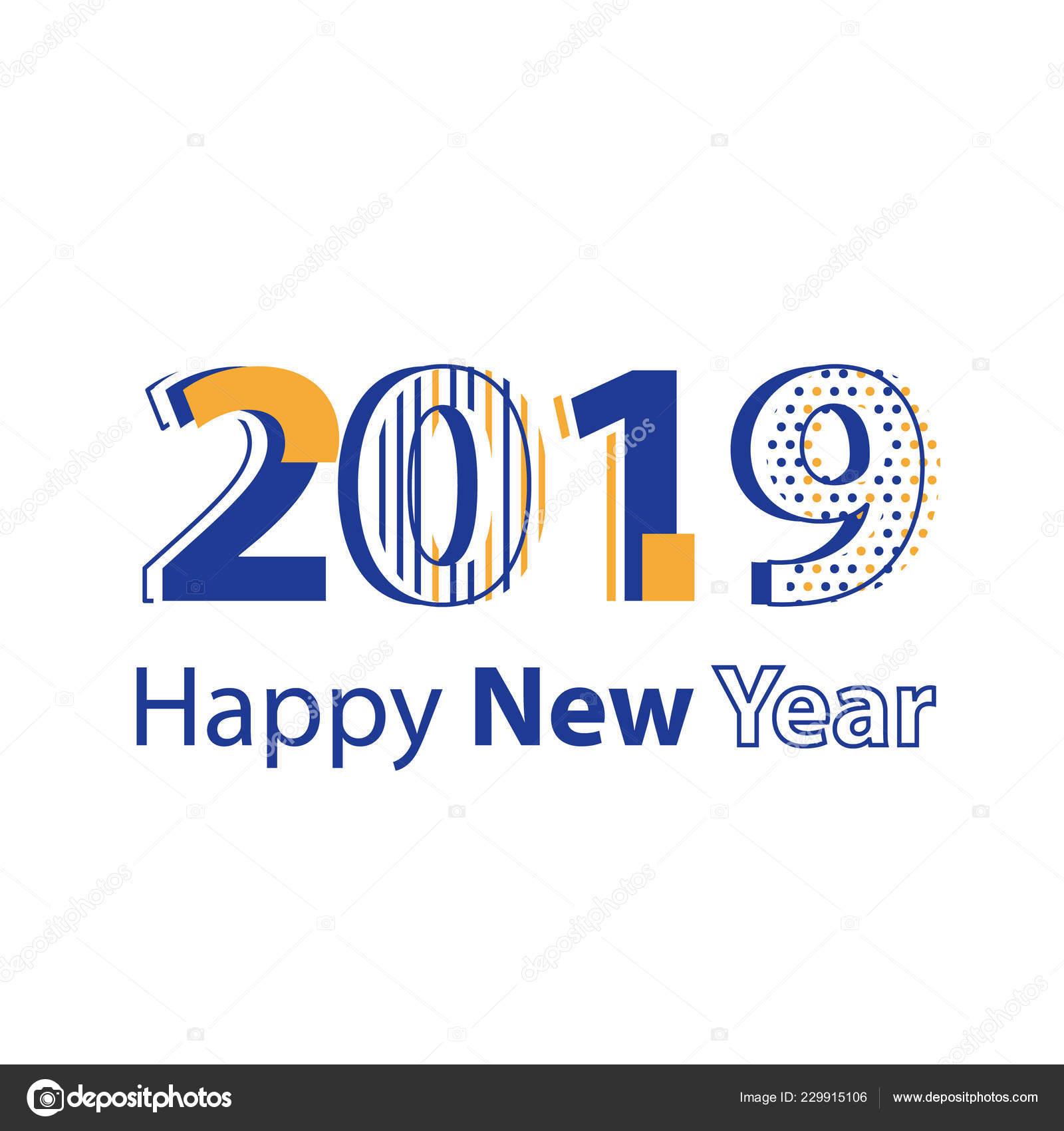 Happy New Year Flat Design 56