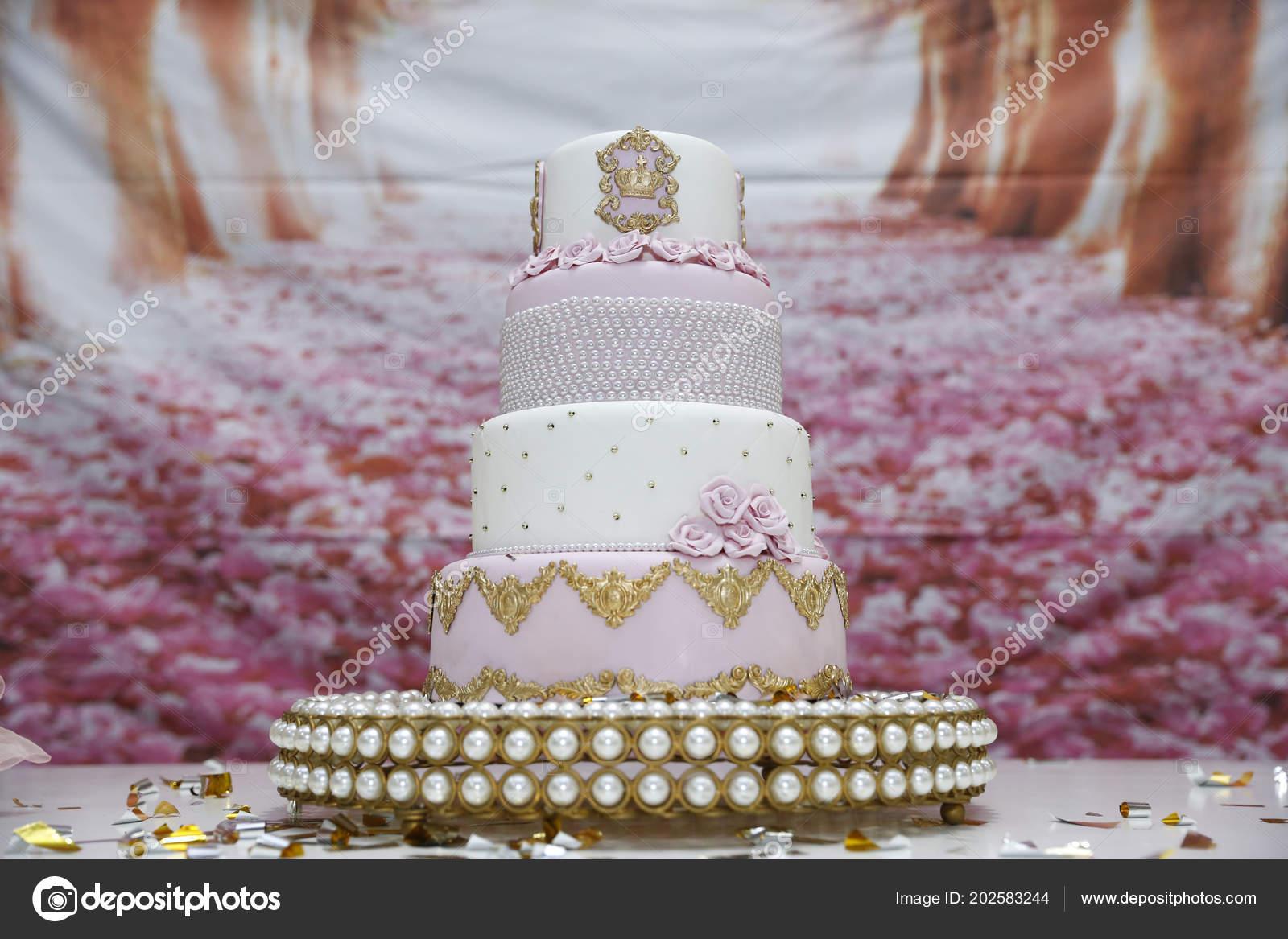 Geburtstagskuchen Zur Feier Des Jahrigen Madchen Kuchen Mit Kerze