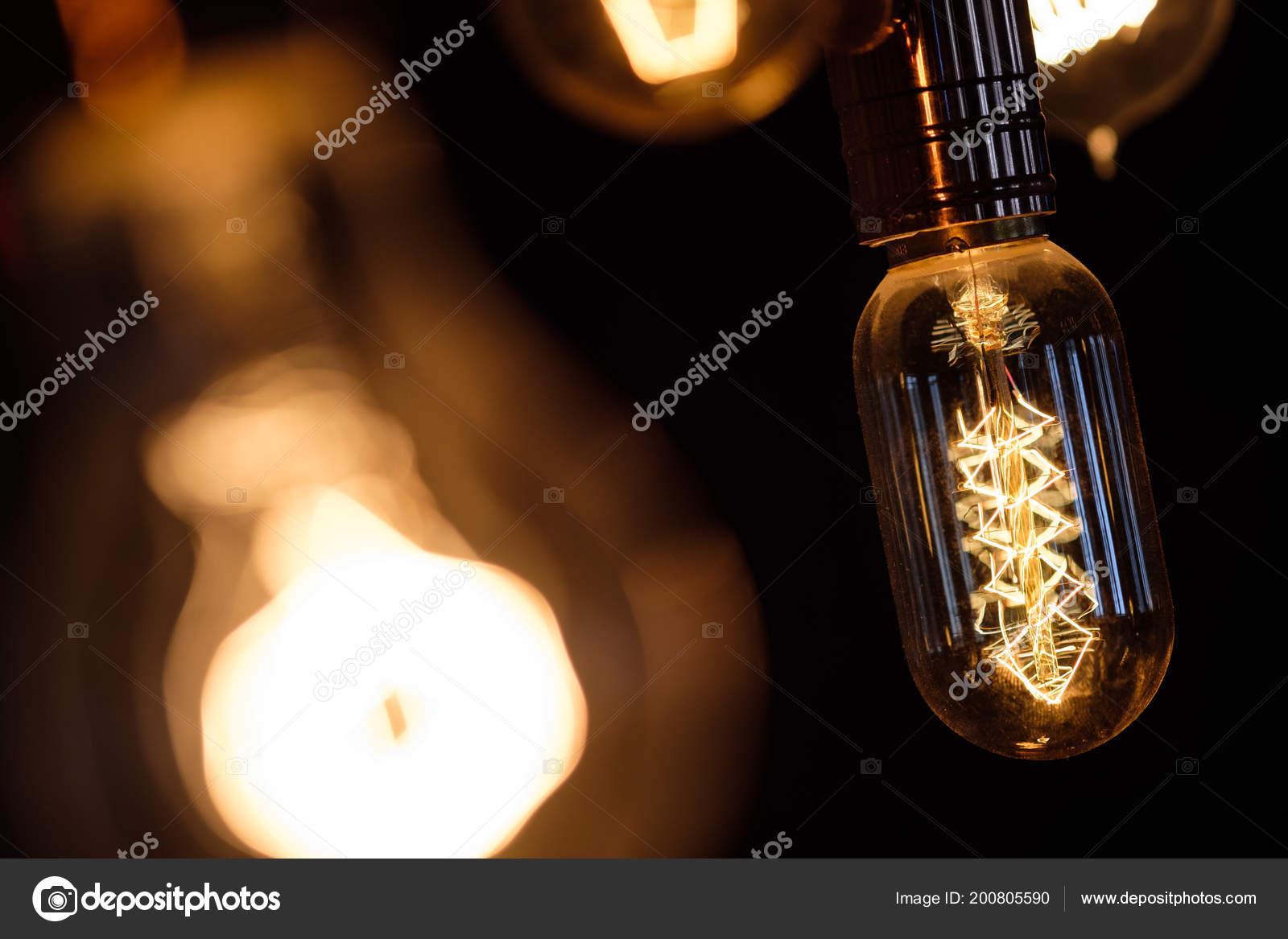 Gloeilamp Spiraal Retro Vintage Warme Lamp Edison