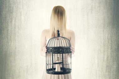 prisoner of itself surreal concept