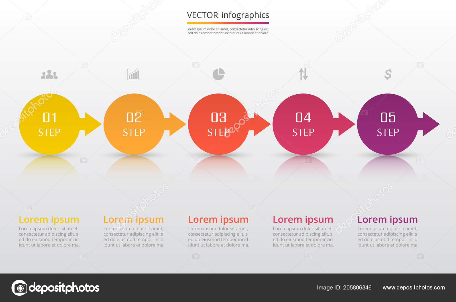 Infographic Template | Step Step Infographic Template Presentation Template Numbers Can