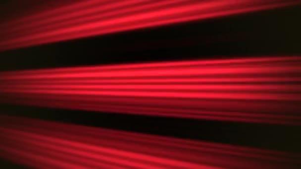 Világos piros mozgás vonalak a fekete háttér, absztrakt animáció hurok