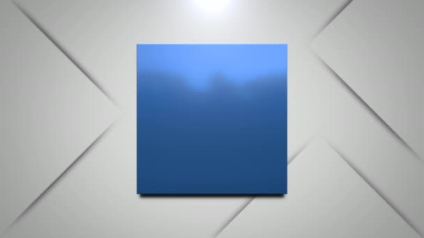 Motion blue squares abstract background. Elegant and luxury dynamic geometric style template