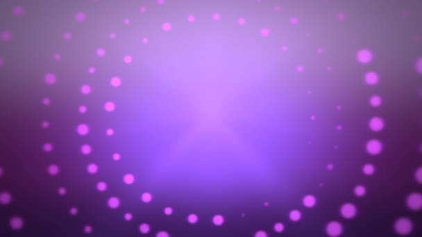 dynamic geometric purple circles abstract background