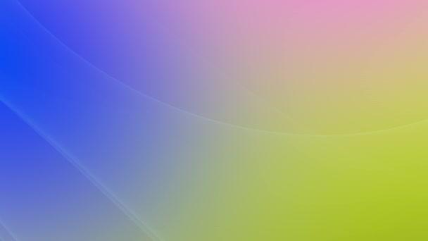 dynamické geometrické modré a žluté čáry abstraktní pozadí