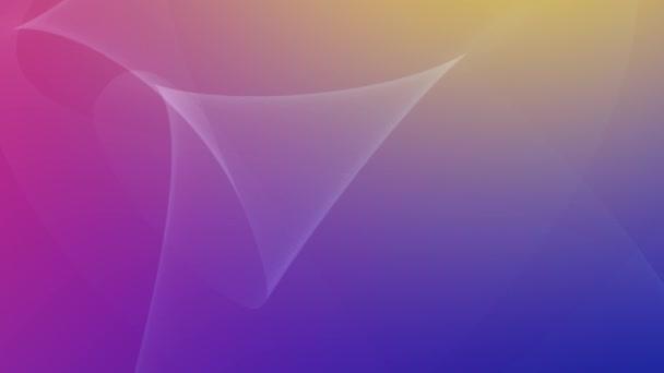 dynamické geometrické linie modré a fialové abstraktní pozadí