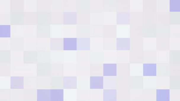 Motion purple and white pixel abstract background. Elegant dynamic geometric style template