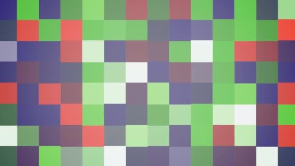 Pohybu barevné čtverce abstraktní pozadí. Elegantní dynamický geometrický styl šablony