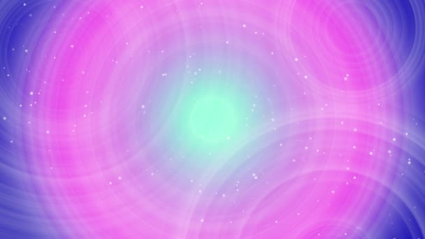 dynamický geometrický růžové a fialové kruhy abstraktní pozadí
