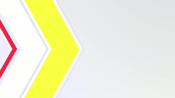 dynamické geometrické žluté a červené linií abstraktní pozadí
