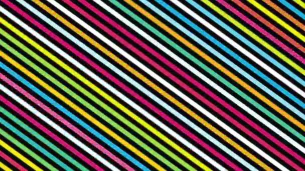 dynamický geometrický retro barevné čáry abstraktní pozadí