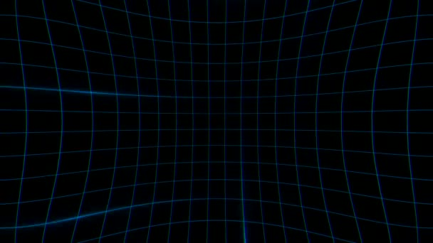 dynamic geometric retro blue lines abstract background