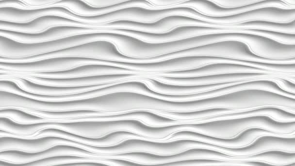 elegante dynamische weiße Flüssigkeitswellen, abstrakter Hintergrund