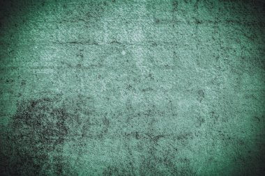 Dark green grunge texture. Halftone simple image
