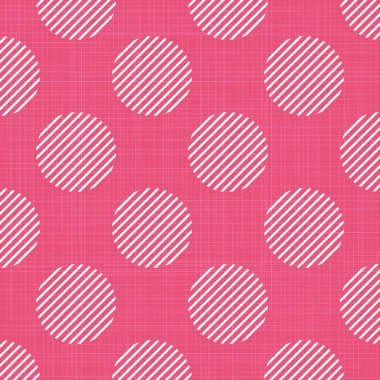 Dots pattern on textile, abstract geometric background. Creative and luxury style illustration