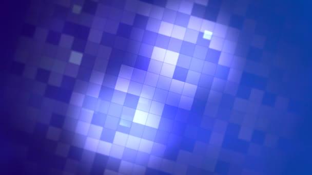 Pohybu modré čtverce abstraktní pozadí
