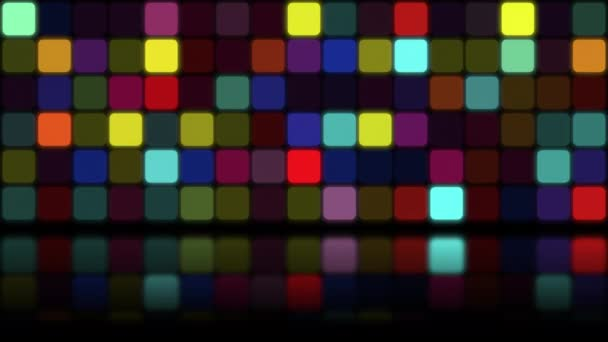 Motion retro colorful mosaic abstract background