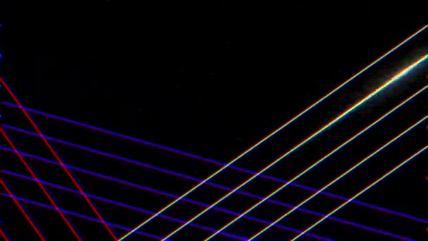 Motion retro blue and purple lines abstract background