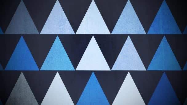 Motion colorful triangles pattern, abstract background