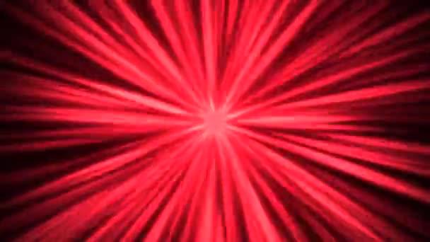 Absztrakt mozgás piros vonalak zaj 80-as stílusban, hurkolás animáció retro háttér
