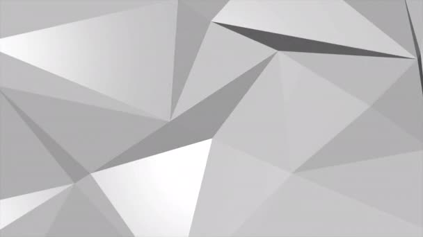 White abstract low poly background