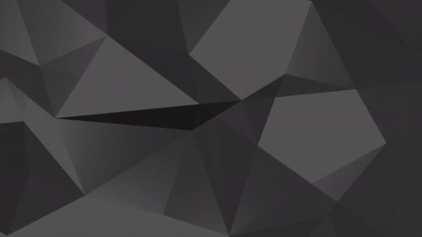 Motion dark black low poly abstract background