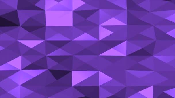 Pohyb tmavě fialová nízká poly abstraktní pozadí
