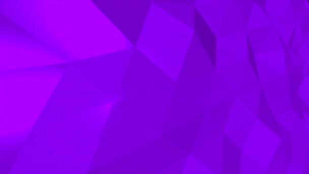 Bewegung dunkel lila Low-Poly abstrakten Hintergrund