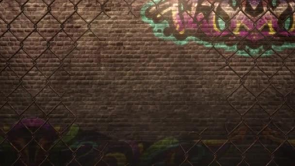 panorama grunge zdi budovy na ulici v letním dni